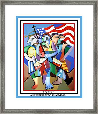 Glory Glory Framed Print by Anthony Falbo