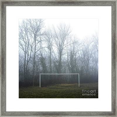 Goal Framed Print by Bernard Jaubert