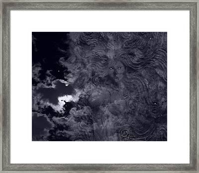 Goddess Vision Framed Print