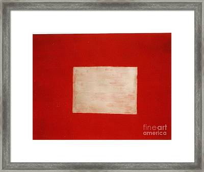 Gold Square Framed Print