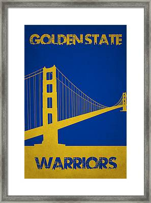Golden State Warriors Framed Print by Joe Hamilton