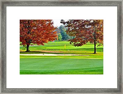 Golf Course Beauty Framed Print