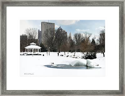 D48l3 Goodale Park Photo Framed Print