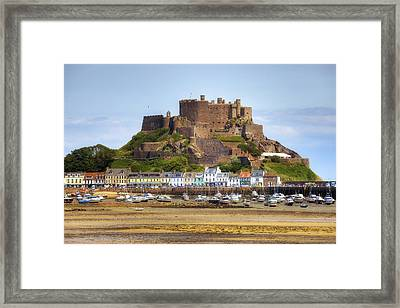 Gorey Castle - Jersey Framed Print by Joana Kruse