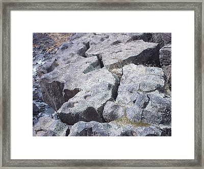 Gorge Edge Framed Print by Angela Stout