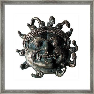 Gorgon Legendary Creature Framed Print by Photo Researchers