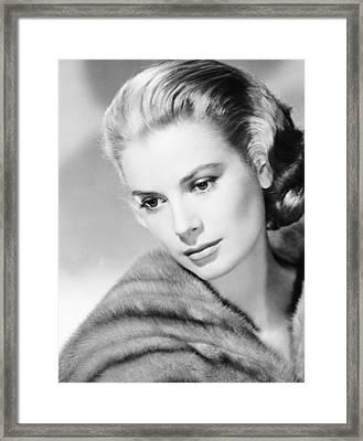 Grace Kelly, Mgm Portrait, Mid-1950s Framed Print