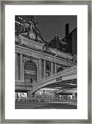 Grand Central Terminal Gct Nyc Framed Print