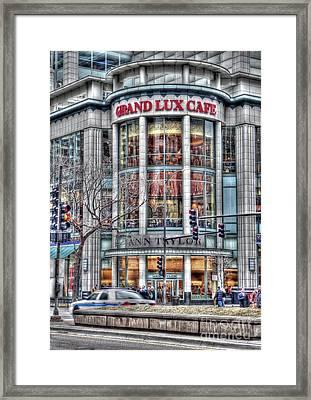 Grand Lux Cafe Framed Print by David Bearden