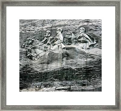 Framed Print featuring the photograph Granite by Steve Godleski