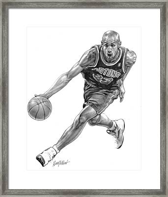 Grant Hill Framed Print by Harry West