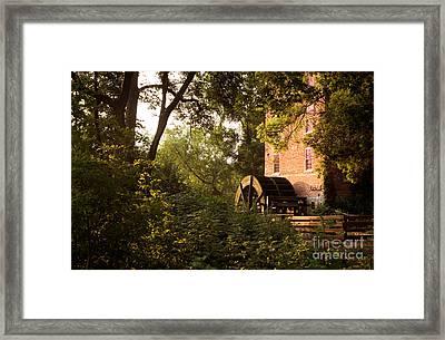 Graue Mill Framed Print by Glenn Morimoto