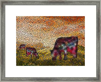 Grazing  Framed Print by Jack Zulli