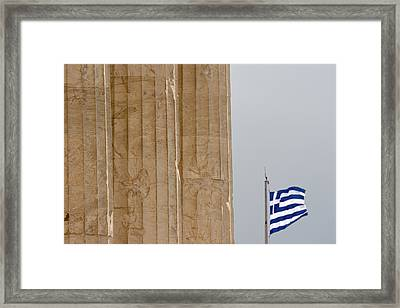 Greece, Athens, Acropolis Framed Print by Jaynes Gallery