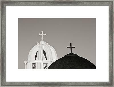 Greece, Santorini Framed Print by Jaynes Gallery