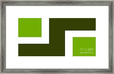 Green Eggs And Ham Framed Print