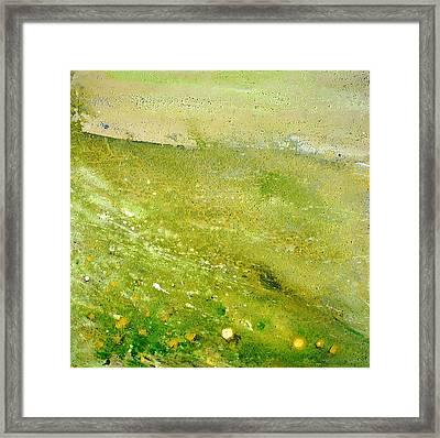 Green Field  Framed Print by Tanya Byrd