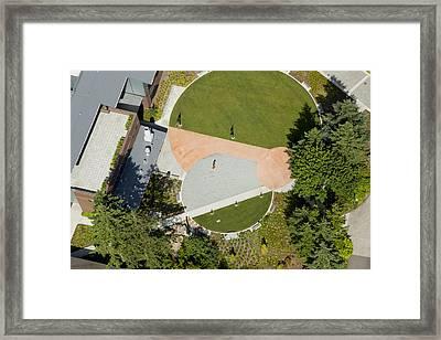 Green River Community College, Auburn Framed Print by Andrew Buchanan/SLP