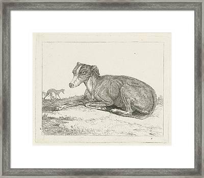 Greyhounds, Jan Dasveldt Framed Print by Artokoloro
