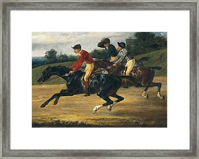 G�ricault, Th�odore 1791-1824. Horse Framed Print