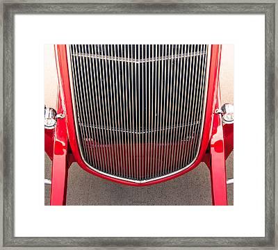 Grill Works Framed Print by Steven Milner