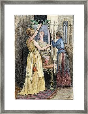 Grimm Snow White, C1890 Framed Print