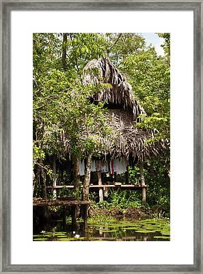 Guatemala, Lake Izabal Framed Print by Michael Defreitas