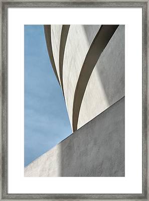 Framed Print featuring the photograph Guggenheim Museum by James Howe