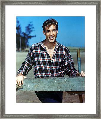 Guy Madison Framed Print by Silver Screen