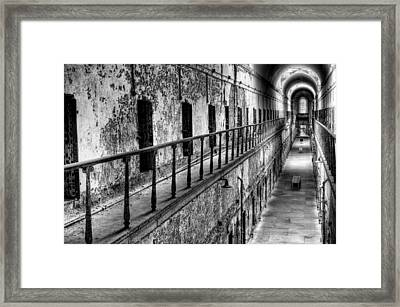 Hallway To Hell Framed Print