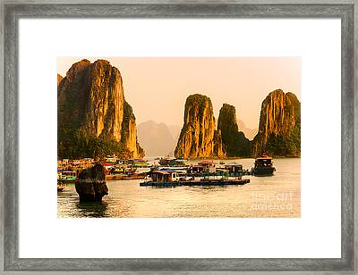 Halong Bay - Vietnam Framed Print