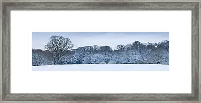 Hampstead Heath In Winter, North Framed Print