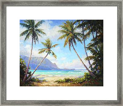 Hanalei Bay Framed Print by Jenifer Prince