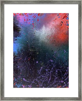 Happiness Framed Print by Min Zou