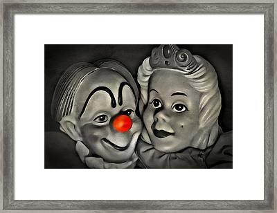 Happy Couple Framed Print by Jeff  Gettis