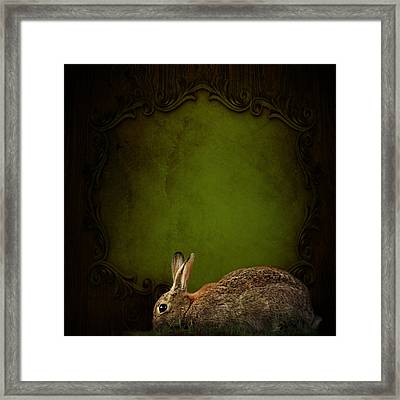 Happy Easter Framed Print by Heike Hultsch