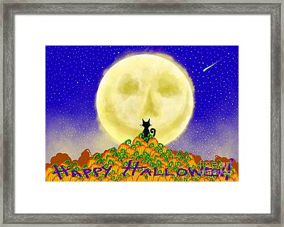 Happy Halloween Framed Print by Nick Gustafson