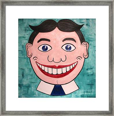 Happy Tilly Framed Print