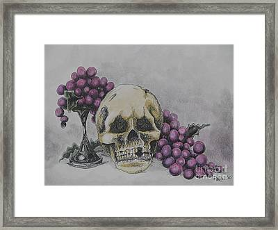 Harold And The Vine Framed Print