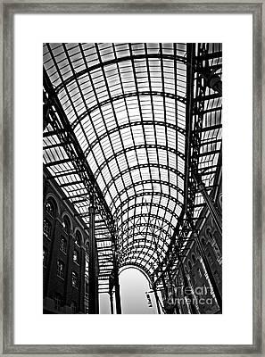 Hay's Galleria Roof Framed Print by Elena Elisseeva