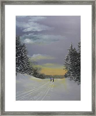 Heading Home Framed Print by Ken Ahlering