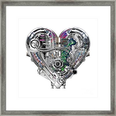 Heart Framed Print by Diuno Ashlee