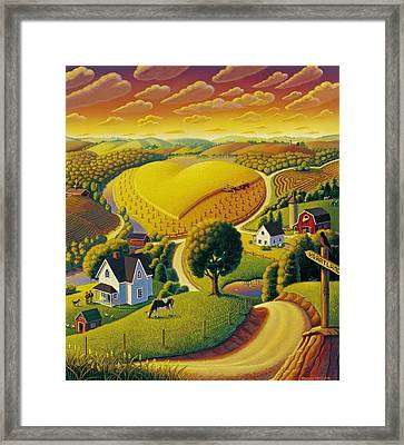 Heartland  Framed Print by Robin Moline