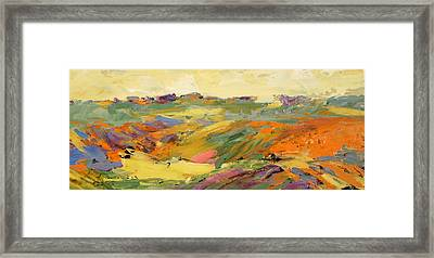 Heartland Series/springtime Framed Print