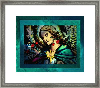 Heaven's Angel Framed Print