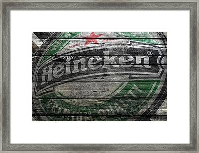 Heineken Framed Print