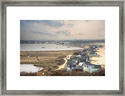 Hengistbury Head - England Framed Print