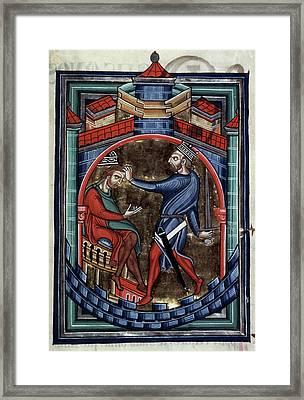 Heraclius (c575-641) Framed Print
