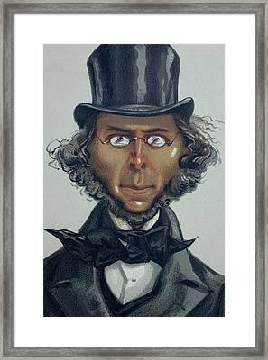 Herbert Spencer Framed Print by Paul D Stewart