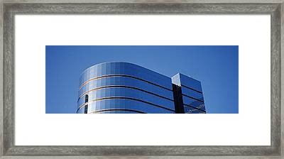 High Section View Of A Building Framed Print by Panoramic Images